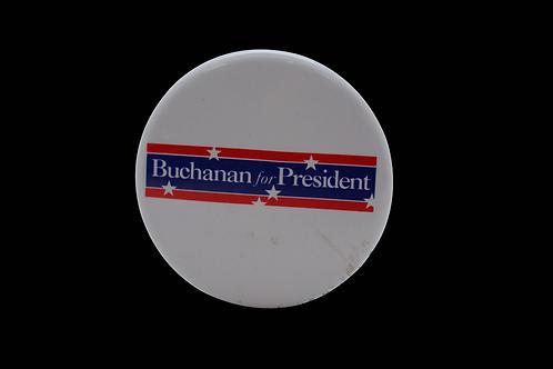 BUCHANAN CAMPAIGN BUTTON