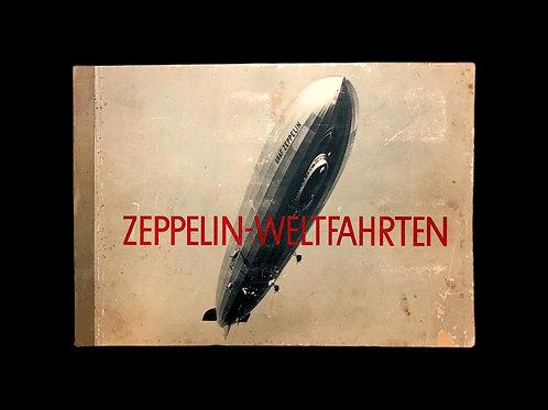 1932 Rare Zeppelin Airship German Propaganda Book
