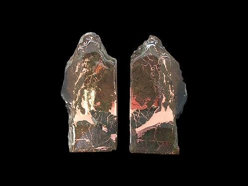 Copper Ore Bookends