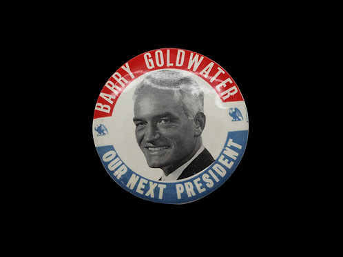 BARRY GOLDWATER CAMPAIGN BUTTON