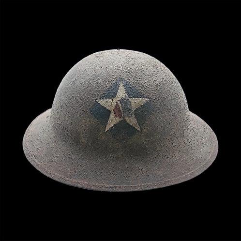 Original WW1 Steel Helmet / 2nd Infantry Division