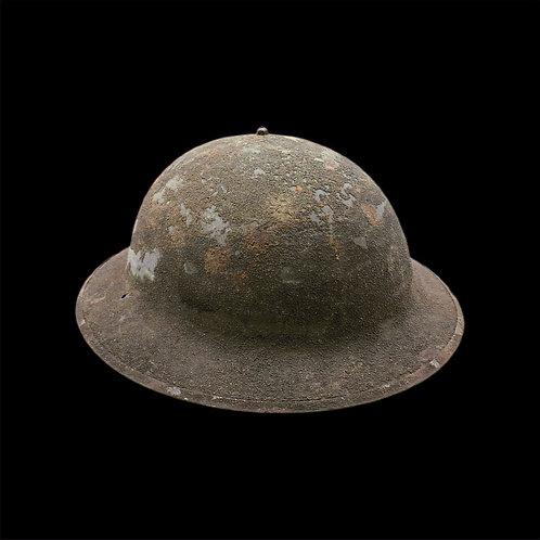 "Early WW2 U.S. M1917A1 ""Wake Helmet"""