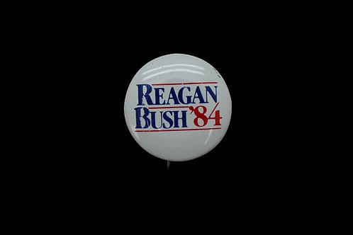 Reagan / Bush 84 Buttons