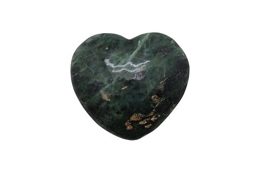 Afghan Jade Heart