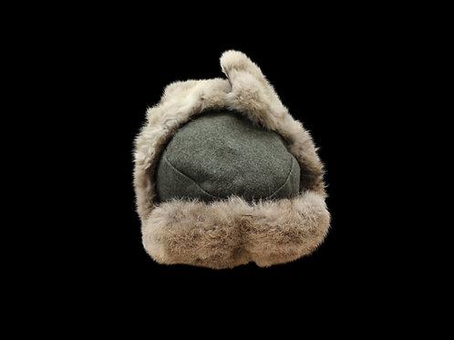 German Rabbit Fur Winter Coat