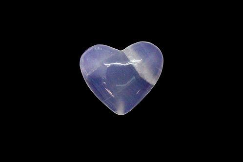 Purple Onyx Heart