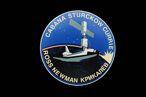 STS-88 PATCH STICKER
