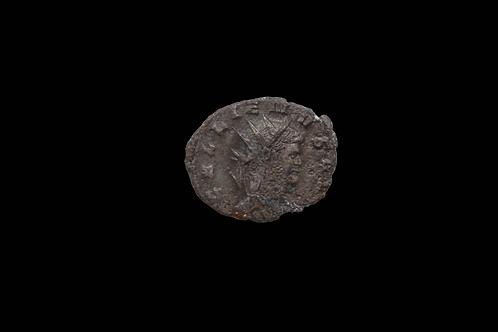 """Roman Coin - AE Antoninianus Gallienus """"ZOO"""" 267-268 A.D"""