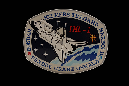 STS-42 CREW PATCH STICKER