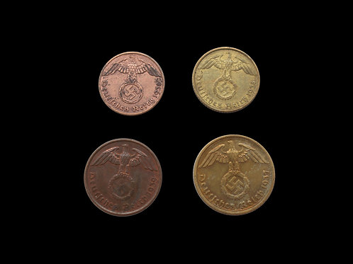 Nazi Germany Coin Currency