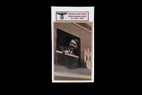 Original NAZI Hitler Propaganda Card