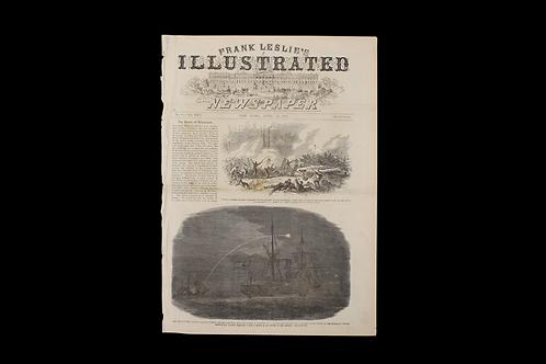 Civil War Era Newspaper - Frank Leslie's Illustrated