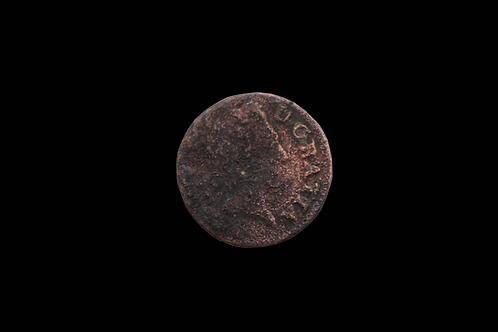 French King Louis XV 1 Liard Copper Coin