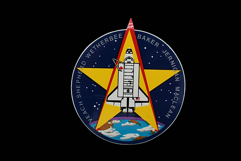 STS-52 CREW PATCH STICKER