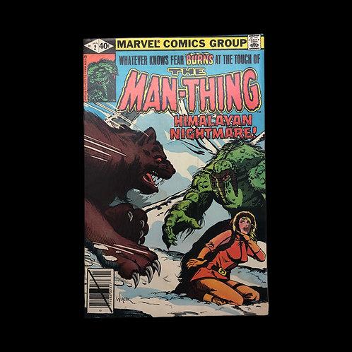 The Man-Thing - Himalayan Nightmare!