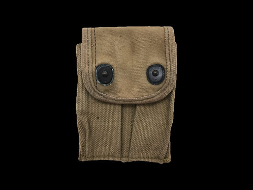 WW1 .45 Ammo Cloth Material Case
