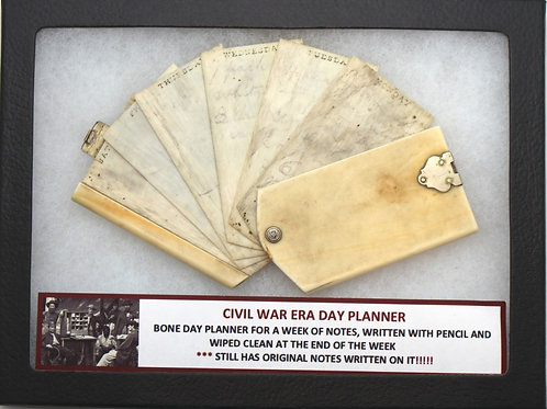 Civil War Era Day Planner