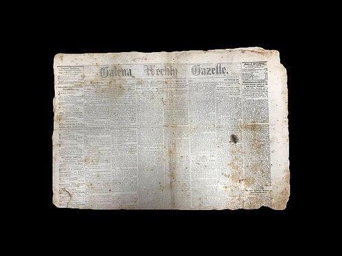 Galena Weekly Gazette - October 25, 1864