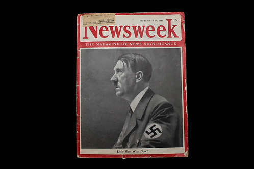 Newsweek Magazine - September 20, 1943