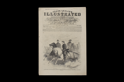 Civil War Era Newspaper - Frank Leslie's Illustrated