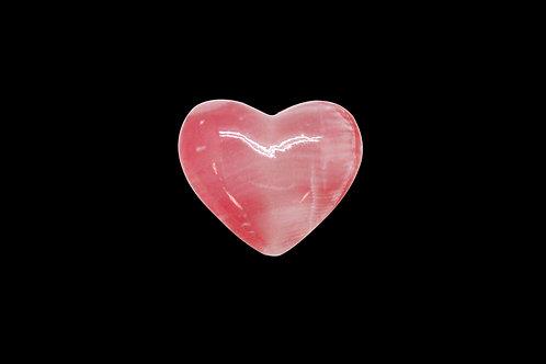 Pink Onyx Heart