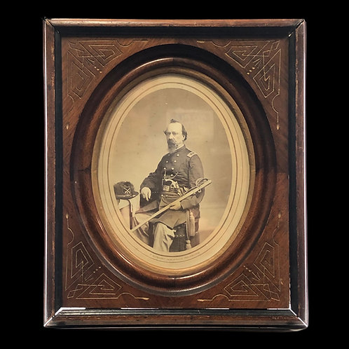 Photograph Of Joseph O.V.S. Archambault / Napoleon Army / Civil War Veteran