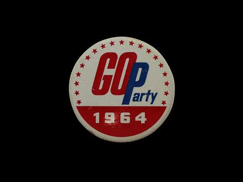 G.O.P Party 1964 Button