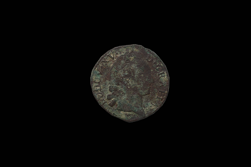 French Louis XV 1 Sol Copper Coin 1711-1720