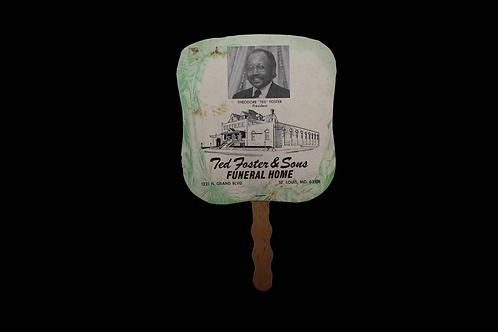 Original Civil Rights Era Hand Fan