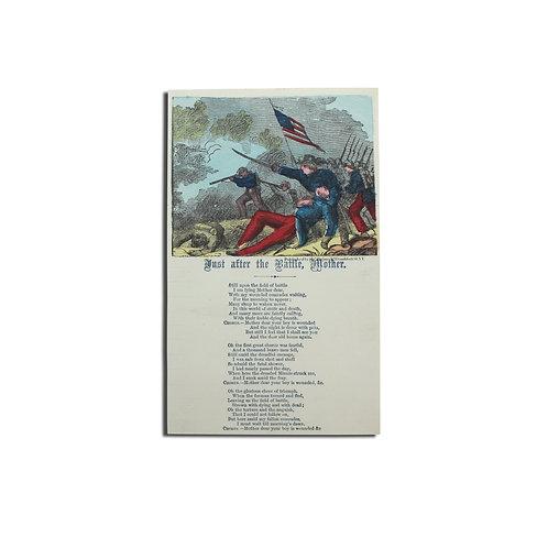 Just After the Battle, Mother - Poem
