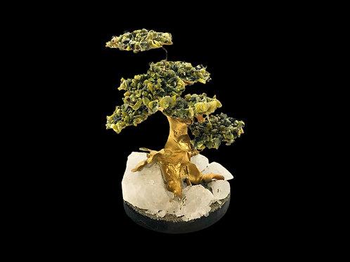 Serpentine Gemstone Tree