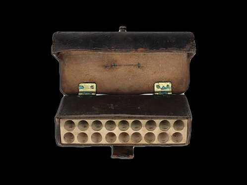 Frazier's Leather Patent Cartridge Box