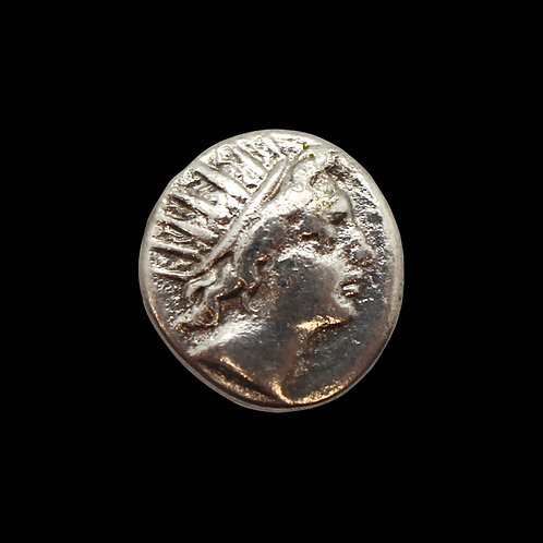 GREEK COIN - 84/88 BC - SILVER DRACHMA