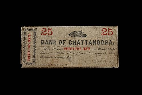 CS Currency - Twenty Five Cents - TN
