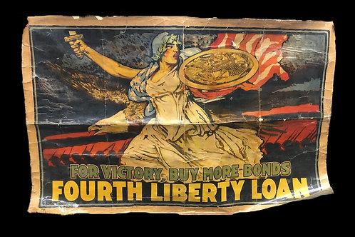 WW1 War Bond Banner