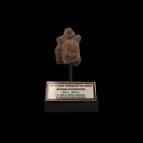 Egyptian Terracotta Head