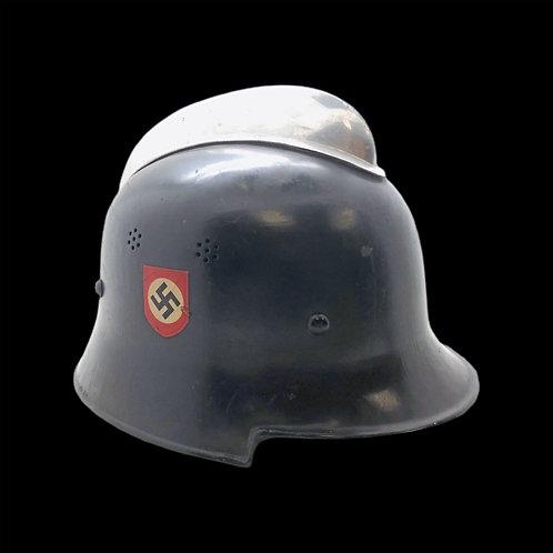 WW2 German Fire Police Helmet - Mint Condition
