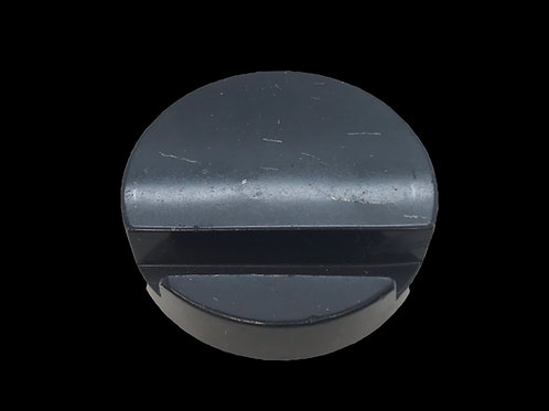 ROUND SHUNGITE CELL PHONE HOLDER