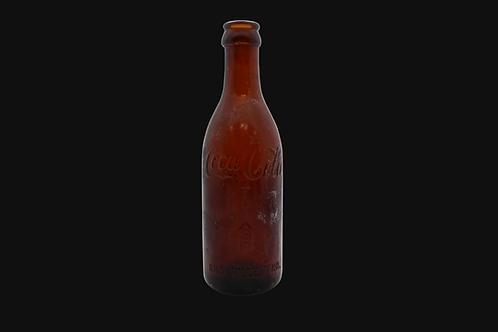 Early Coke Bottle With Repair