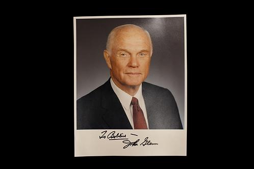 John Glenn Autograph