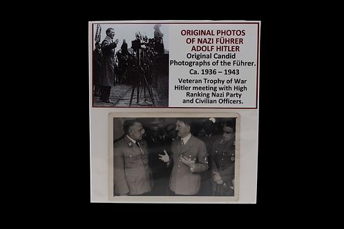 ORIGINAL PHOTO OF NAZI FUHRER HITLER