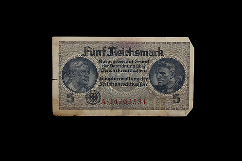 WW2 Era German Currency