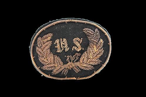 CW Bullion Embroidered Hat Badge