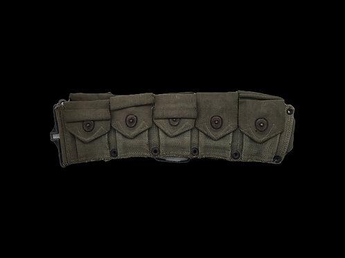WW2 Rifle Cartridge Ammo Belt M1923