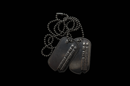WW2 Soldier Tags