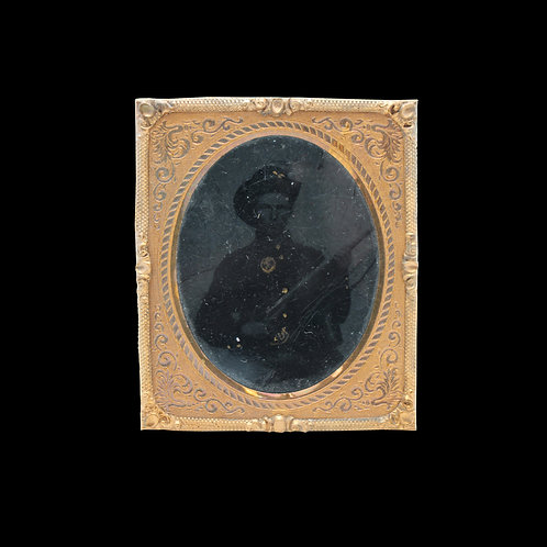 Civil War Soldier Tintype