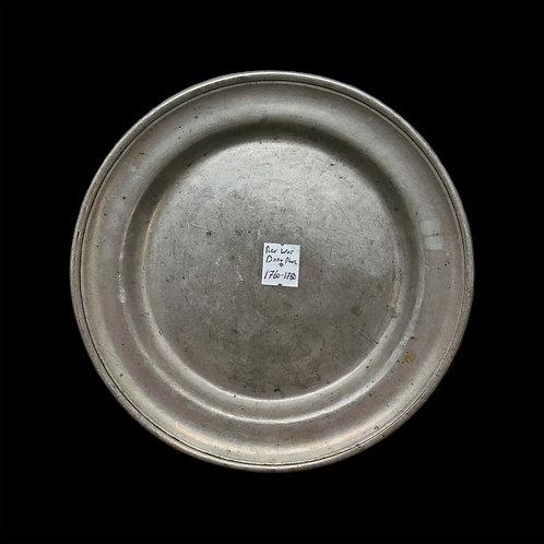Revolutionary War Era Dinner Plate