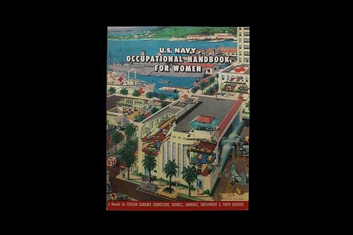 WW2 U.S. Navy Occupational Handbook For Women