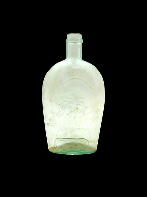 Civil War Era Glass Bottle / Flask