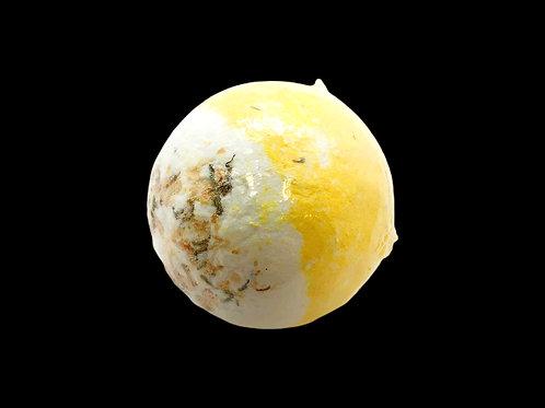 Citrine Honeysuckle Bath Bomb